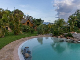 Segera Retreat pool Kenya