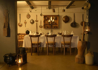 Selati Camp dining Sabi Sabi