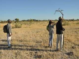 Footsteps camp Okavango