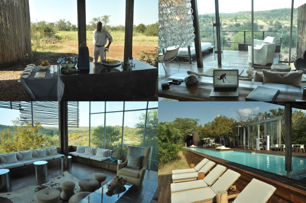 The luxury of Singita's Lebombo Lodge
